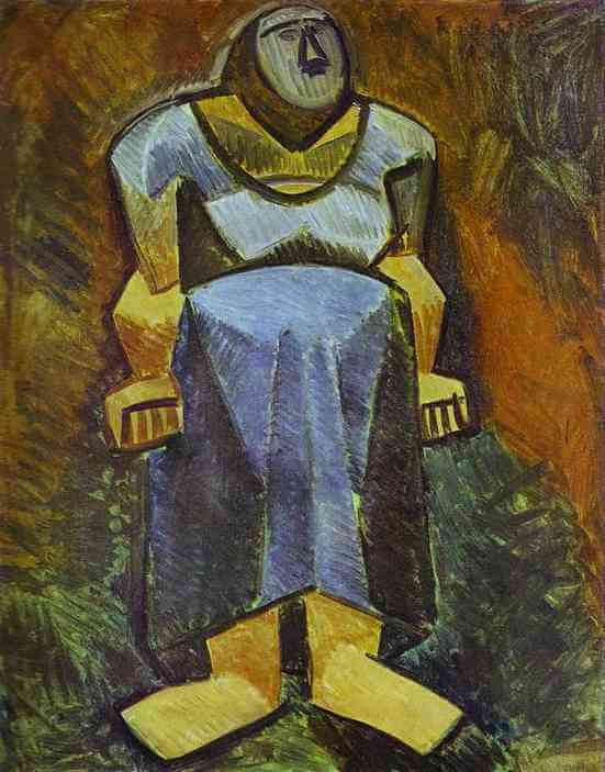 Picasso, Mujer campesina, 1908.