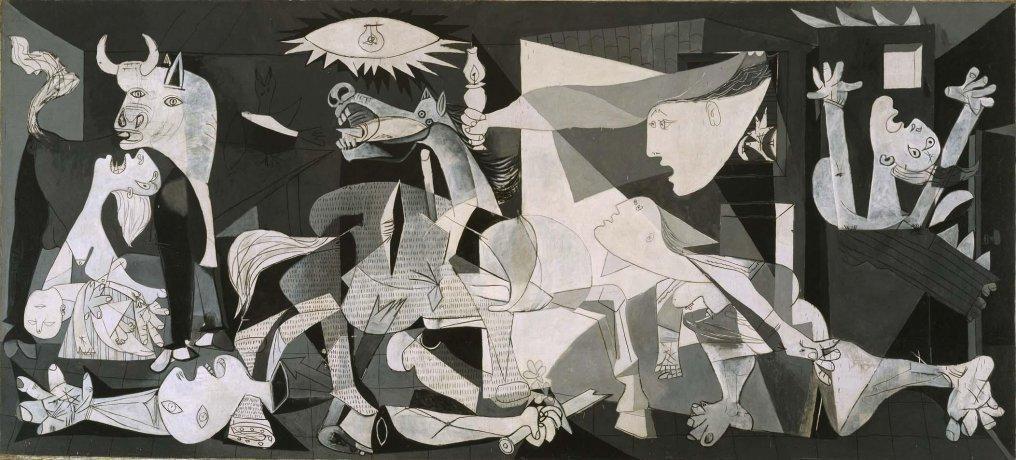 Picasso, El Guernica, 1937.