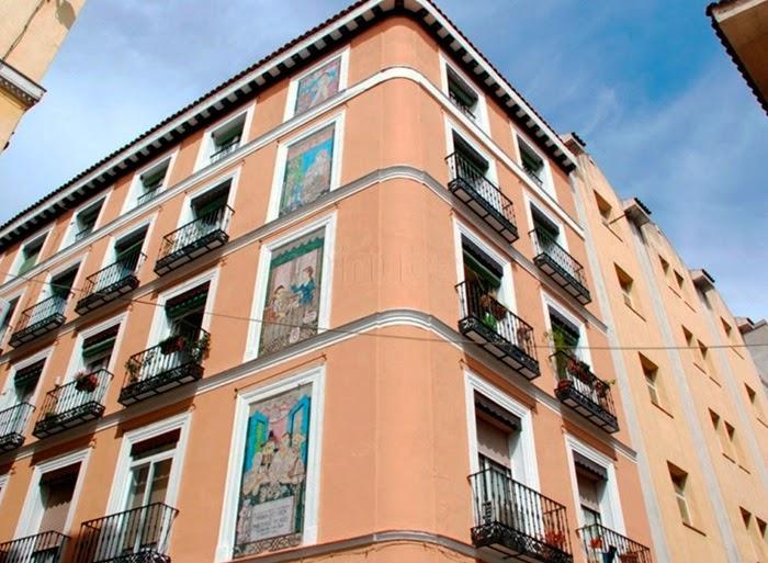 Casa en la que vivió Picasso, en su primera estancia en Madrid.
