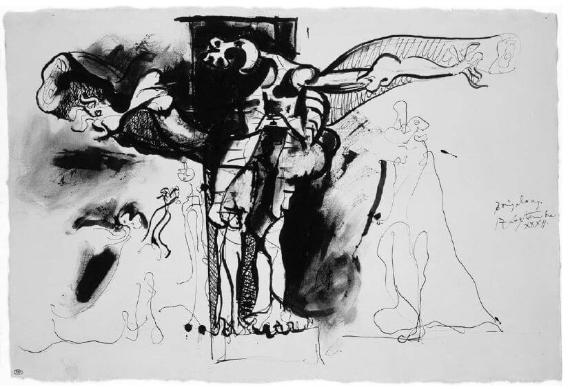 Picasso, Crucifixión, 1932.