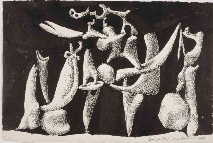 Picasso, Crucifixión, 1932. Musée National Picasso. Paris