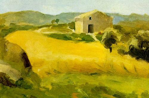 Picasso, Primer viaje a Horta