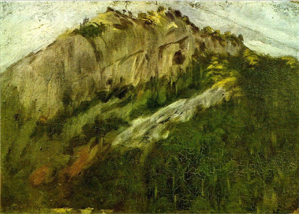 Picasso, Paisaje en Horta de Ebro, 1898.