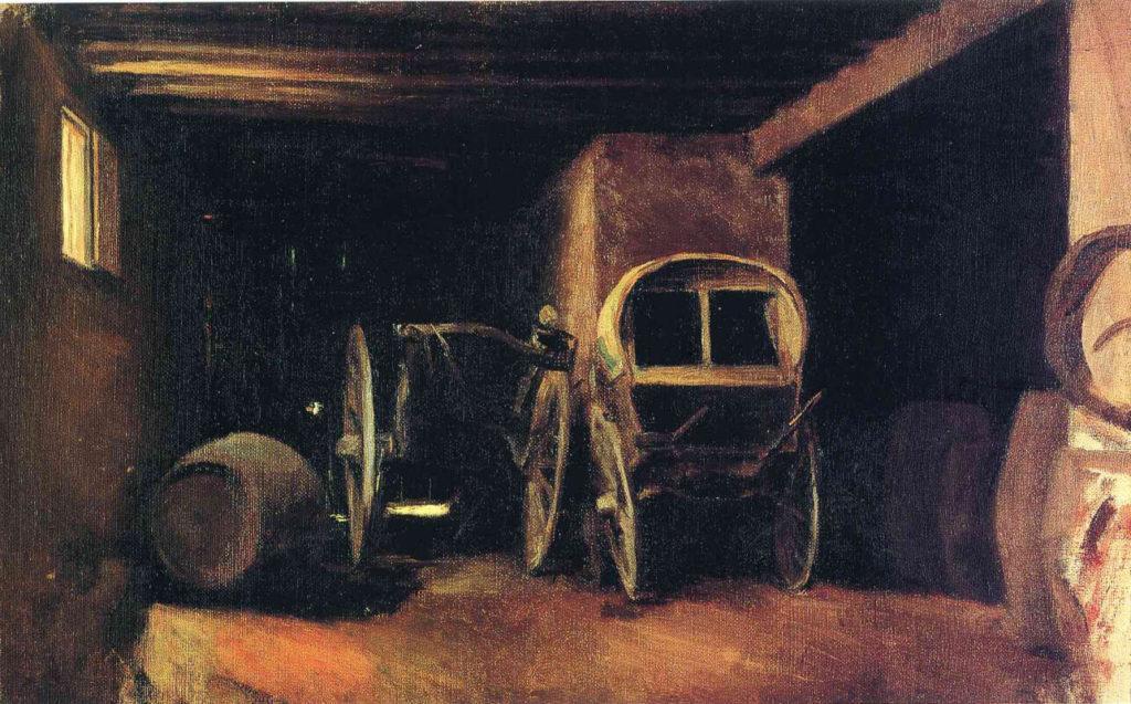 """Picasso, Horta de Sant Joan"""", 898-1899."""