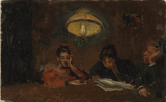 Picasso, Velada familiar, 1895.