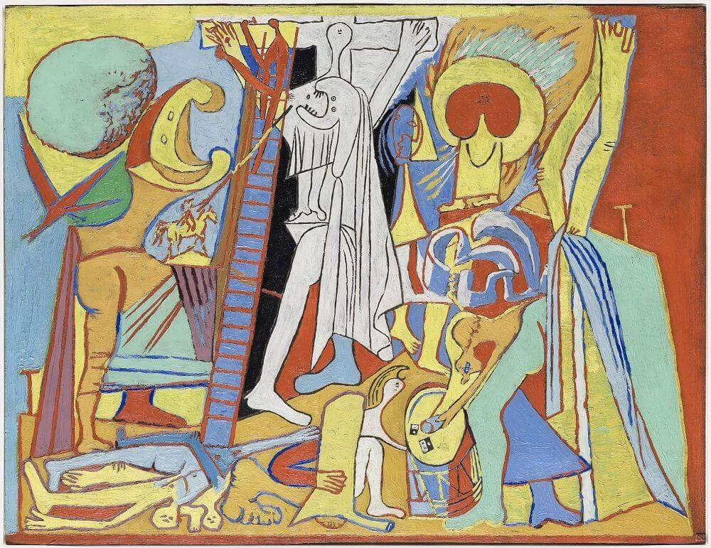 Picasso, Crucifixión cubista, 1930.