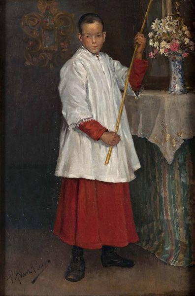 Picasso, El monaguillo, 1896.