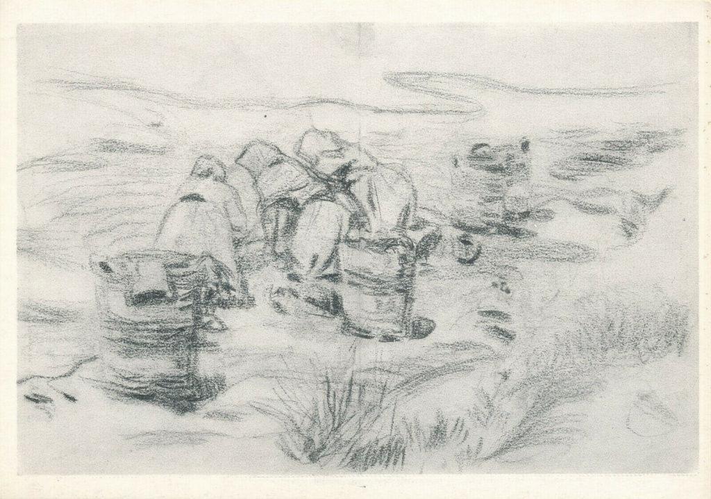 Picasso,»Lavanderas», Horta, 1898.