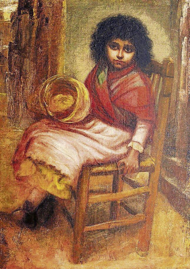 ¿Picasso?, La enferma, 1894.