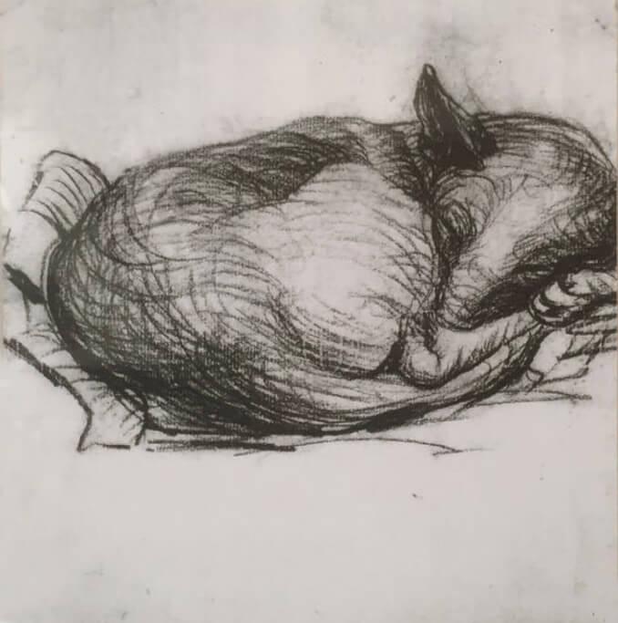 Picasso, apuntes Horta de Sant Joan, 1898-1899.