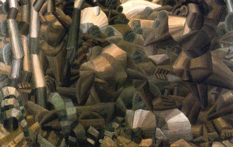 """Fernand Léger, """"Desnudos en el bosque"""", 1910. El Cubismo"""