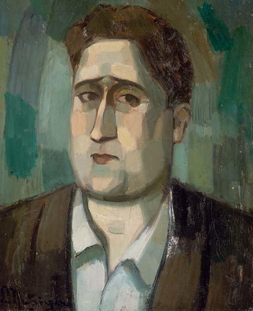 "Jean Metzinger, (1883-1956), ""Retrato de Guillaume Apollinaire"", 1910. El Cubismo"