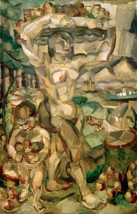 """Henri Le Fauconnier, """"Abondance"""", 1910. El Cubismo"""