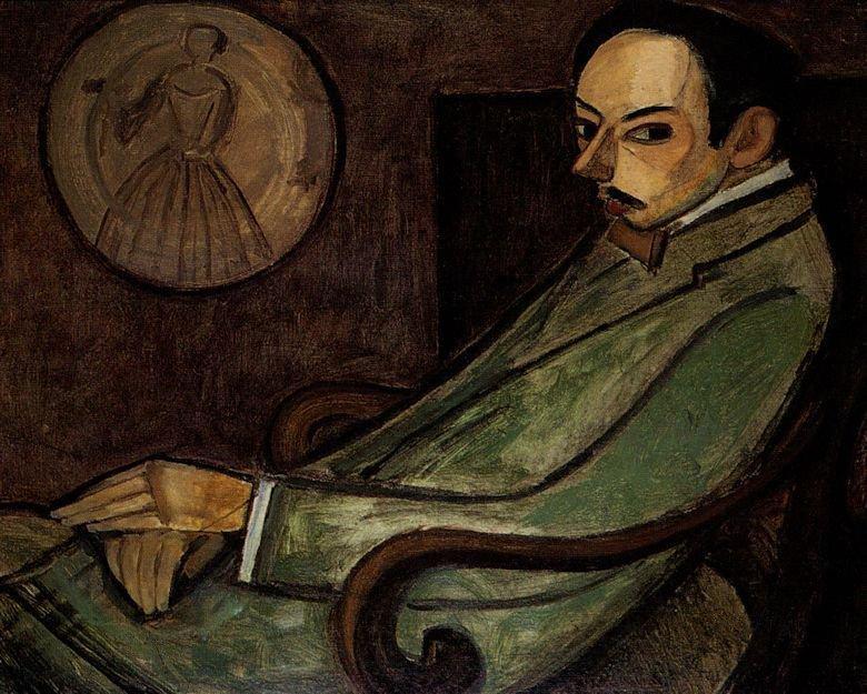 Le Fauconnier, retrato del poeta Pierre Jean Jouve El Cubismo