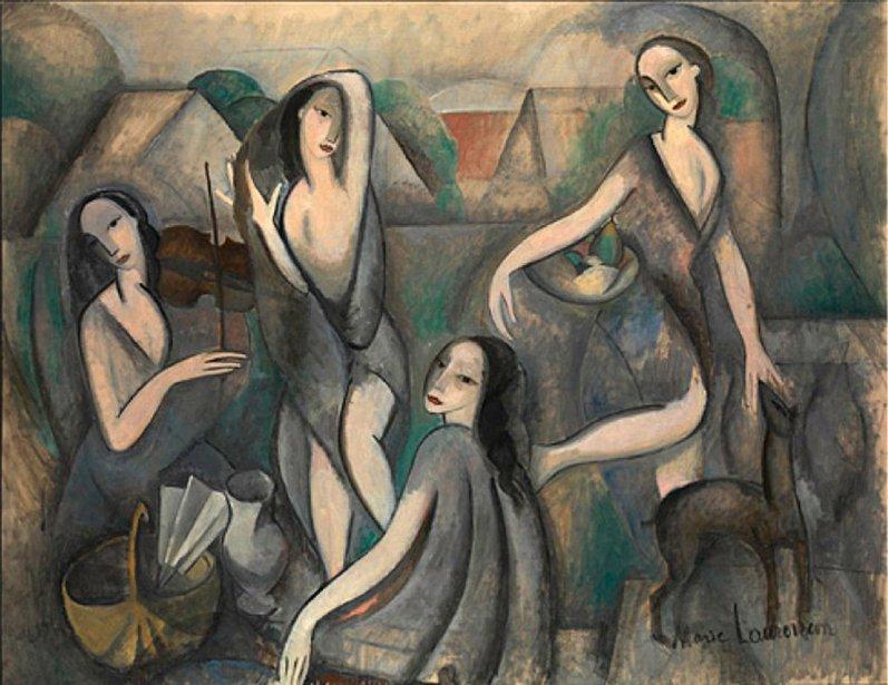 Marie Laurencin, «las niñas», 1911. El Cubismo