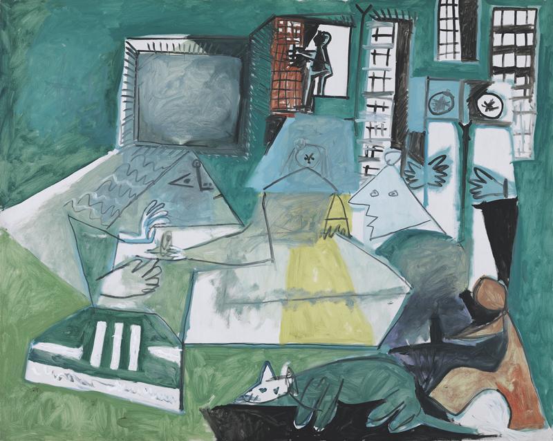 Pablo Picasso. Las Meninas. Cannes, 15 de septiembre del 1957. Museu Picasso, Barcelona.