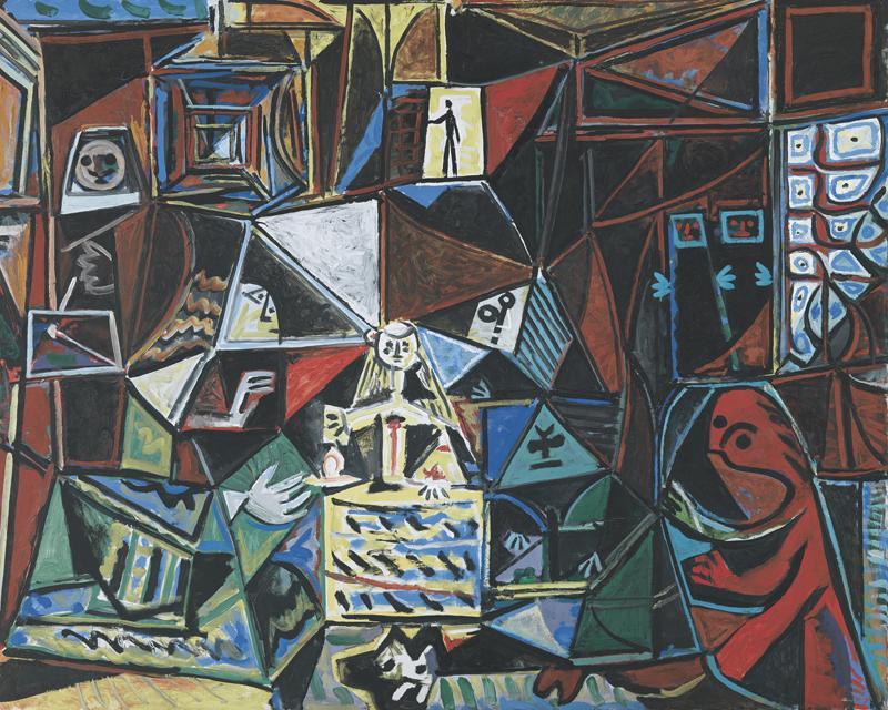 Pablo Picasso. Las Meninas. Cannes, 18 de septiembre del 1957. Museu Picasso, Barcelona.