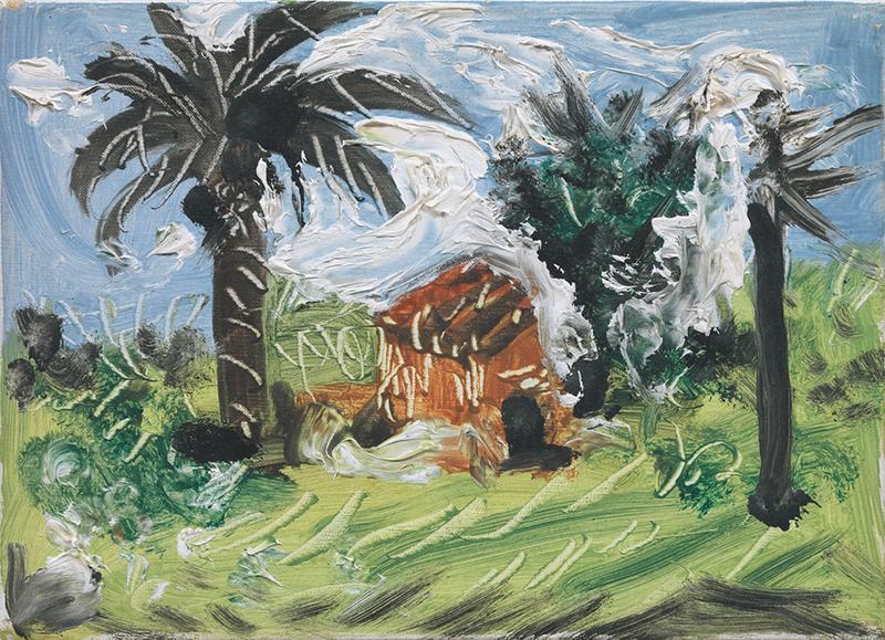 Pablo Picasso. Paisaje. Cannes, 2 de diciembre de 1957. Museu Picasso, Barcelona.