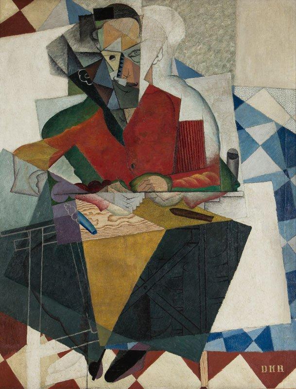 """Diego Rivera, """"El arquitecto, 195-1916."""