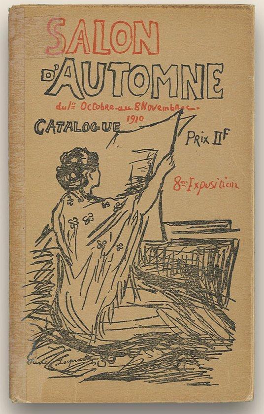 "cubismo Catálogo del Salón de otoño"" (París) de 1910."