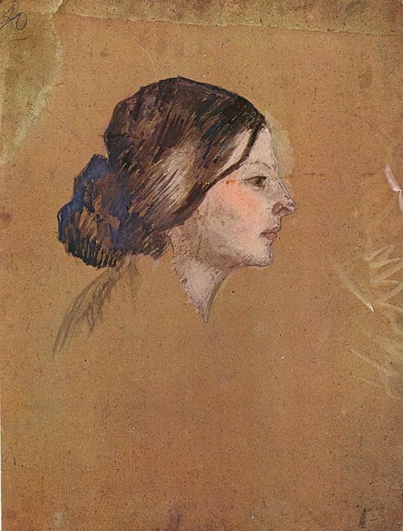"""Picasso, """"Madeleine"""", 1904."""