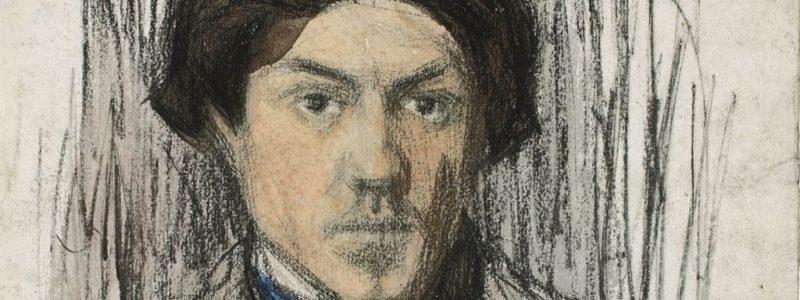 detalle autorretrato, 1901 copia